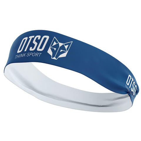 Headband Otso Sport Electric Blue / White