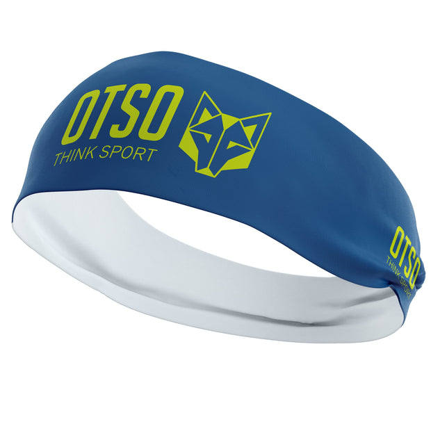 Headband Otso Sport Electric Blue / Fluo Yellow