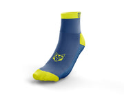 Calcetines Multideporte Low Cut Electric Blue & Yellow