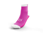 Calcetines Multideporte Low Cut Fluo Pink & White
