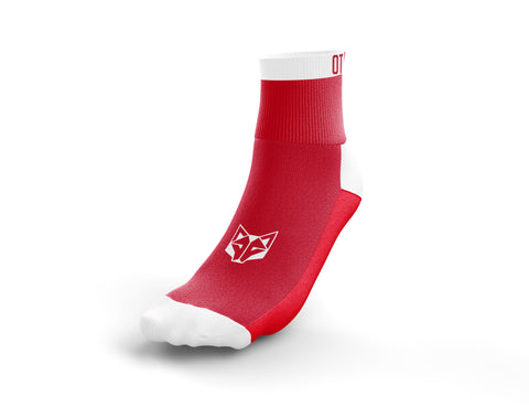 Calcetines Multideporte Low Cut Red & White