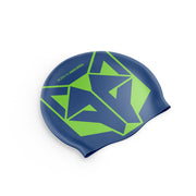 Gorro natación Electric Blue / Fluo Green