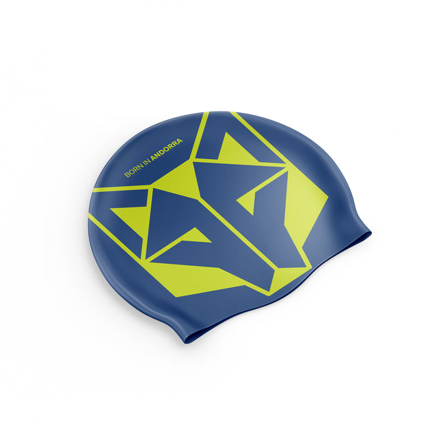 Gorro natación Electric Blue / Fluo Yellow