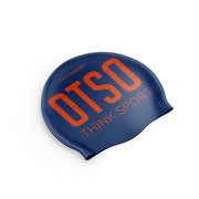 Gorro natación Navy Blue / Fluo Orange