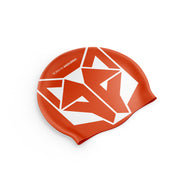 Gorro natación Fluo Orange / White