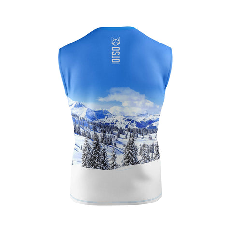 Men's Singlet Snow Forest