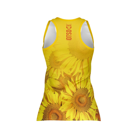 Women's Singlet Sunflower