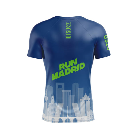 Men 's Short Sleeve Shirt Run Madrid Tio Pepe