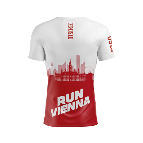 Men's Short Sleeve Shirt Run Vienna Wurstelprater