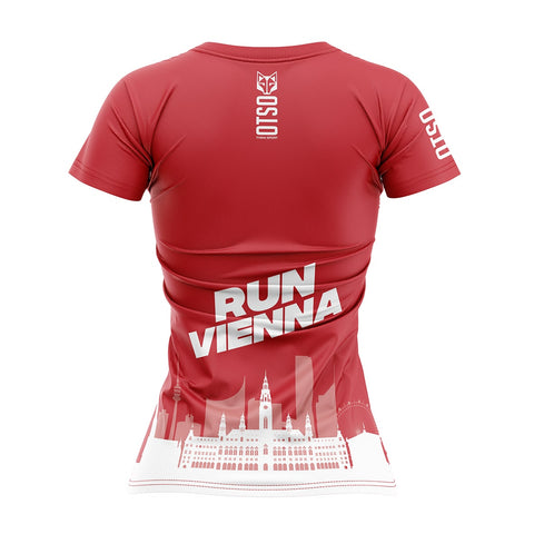 Women 's Short Sleeve Shirt Run Vienna City Hall
