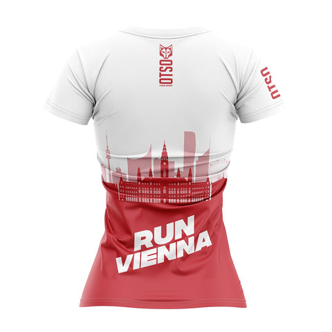 Women's Short Sleeve Shirt Run Vienna Wurstelprater