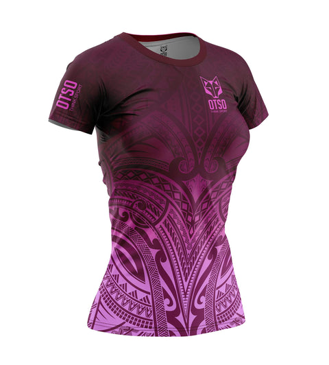 Women's Short Sleeve Shirt Maori