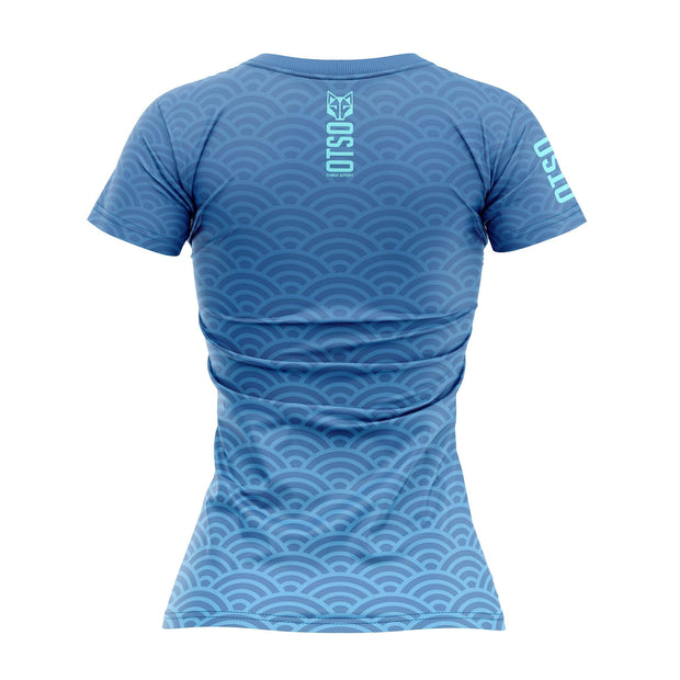 Women's Short Sleeve Shirt Surf