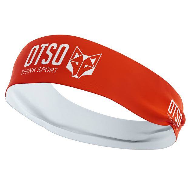 Headband Otso Sport Fluo Orange / White