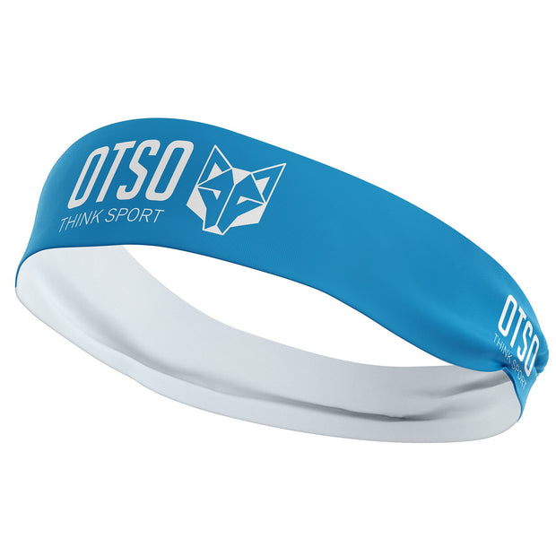 Headband Otso Sport Light Blue / White