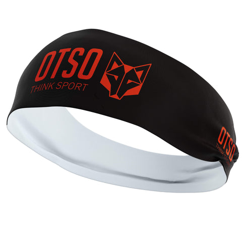 Headband Otso of 12 centimeters thick and black color. The product is unisex and one size fits all
