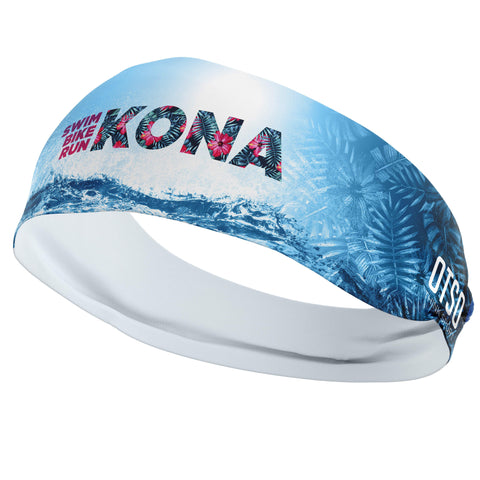 Headband Otso of 12cm of the 2019 edition of Kona. The product is unisex and one size fits all