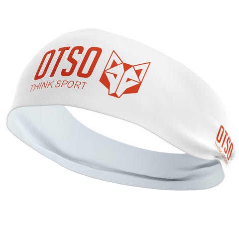 Headband Otso of 12 centimeters thick and white. The product is unisex and one size fits all