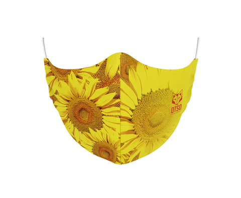 Face Mask Sunflower