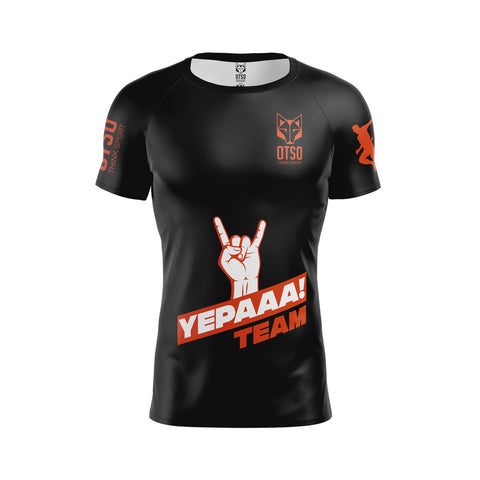 Men 's Short Sleeve Shirt Yepaaa Black