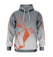 Hoodie Grey & Orange Otso