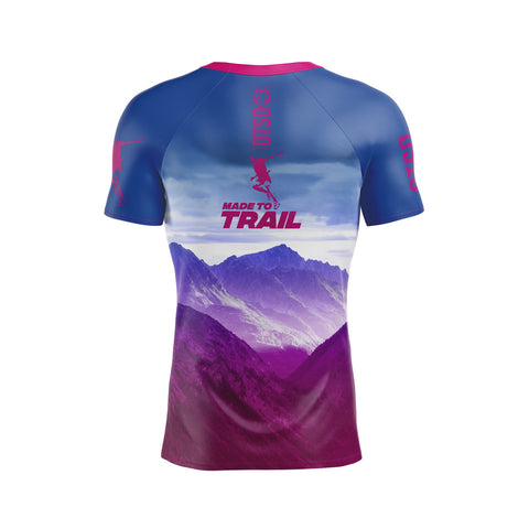 Camiseta Manga Corta Hombre Made To Trail