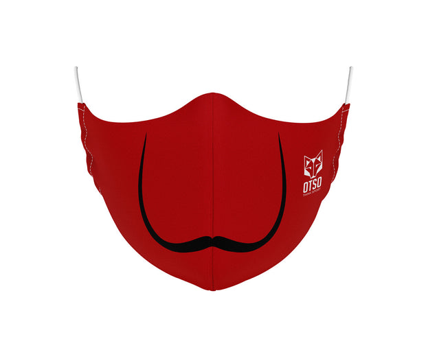 Mascarilla Moustache Red