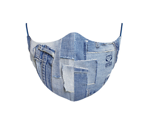 Face Mask Jeans Blue