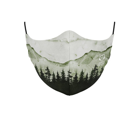 Face Mask Green Forest