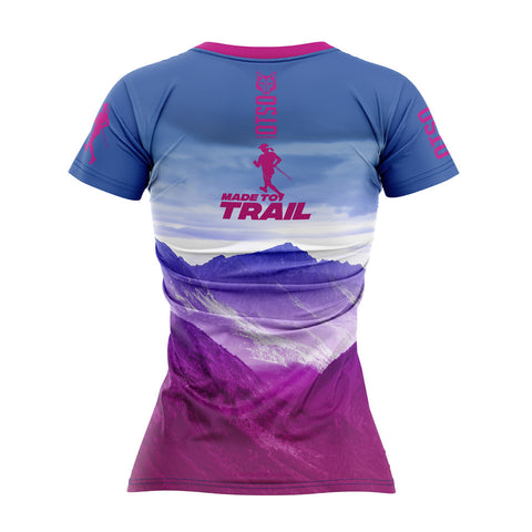 Camiseta Manga Corta Mujer Made To Trail