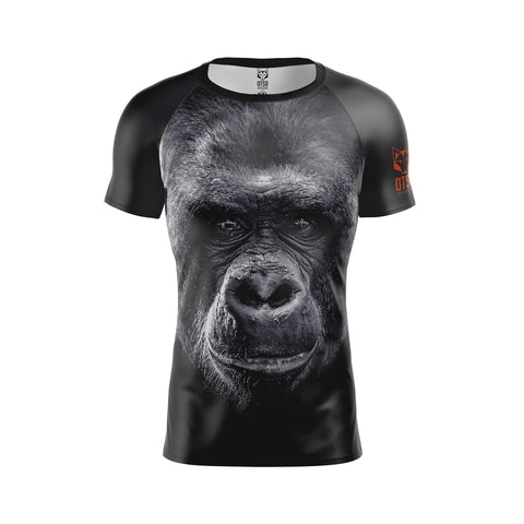 Men's Short Sleeve Shirt Gorilla