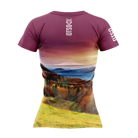 Women's Short Sleeve Shirt Autumn