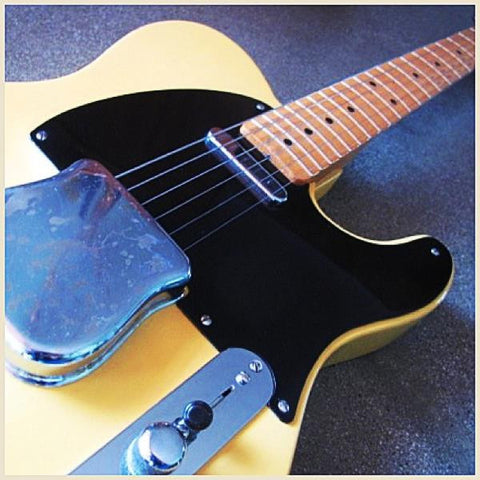 TK Smith Black Lacquered Pickguard