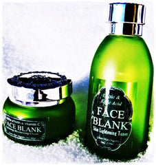 SOLD OUT! FACE BLANK Toner & Cream-Skin Lightening Kit