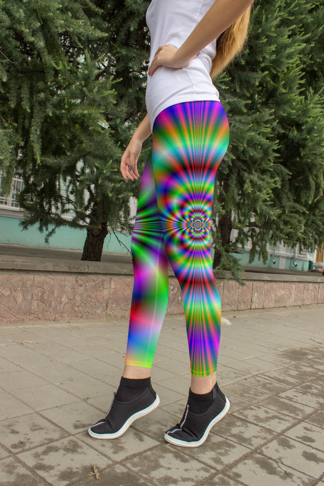Psychedelic Leggings - US FITGIRLS