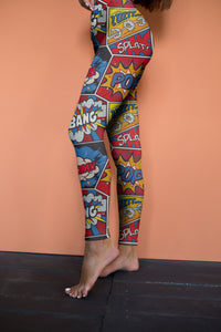 Boom Bang Cartoon Leggings - US FITGIRLS