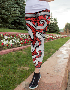 Polynesian Maori Leggings - US FITGIRLS