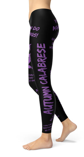 Autumn Motivational Leggings - US FITGIRLS