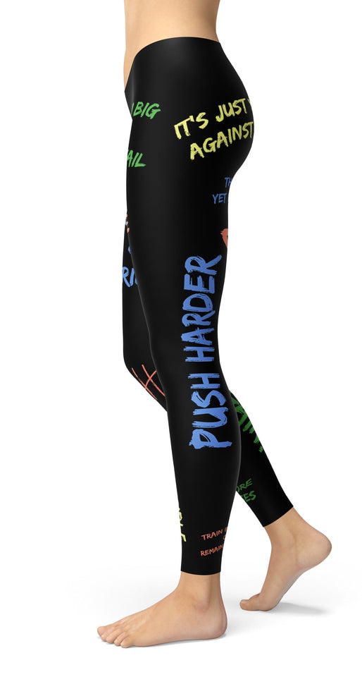 Go Hard Go Pro Color Leggings - US FITGIRLS