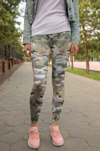 Army Leggings - US FITGIRLS
