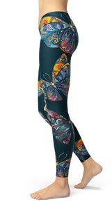 Colorfull Butterfly's Leggings - US FITGIRLS