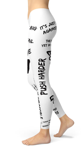 Go Hard, Go Pro Leggings - US FITGIRLS
