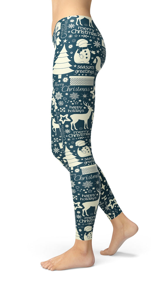 Christmass Leggings - US FITGIRLS