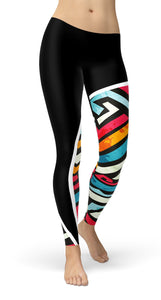 Pattern Festival Leggings - US FITGIRLS