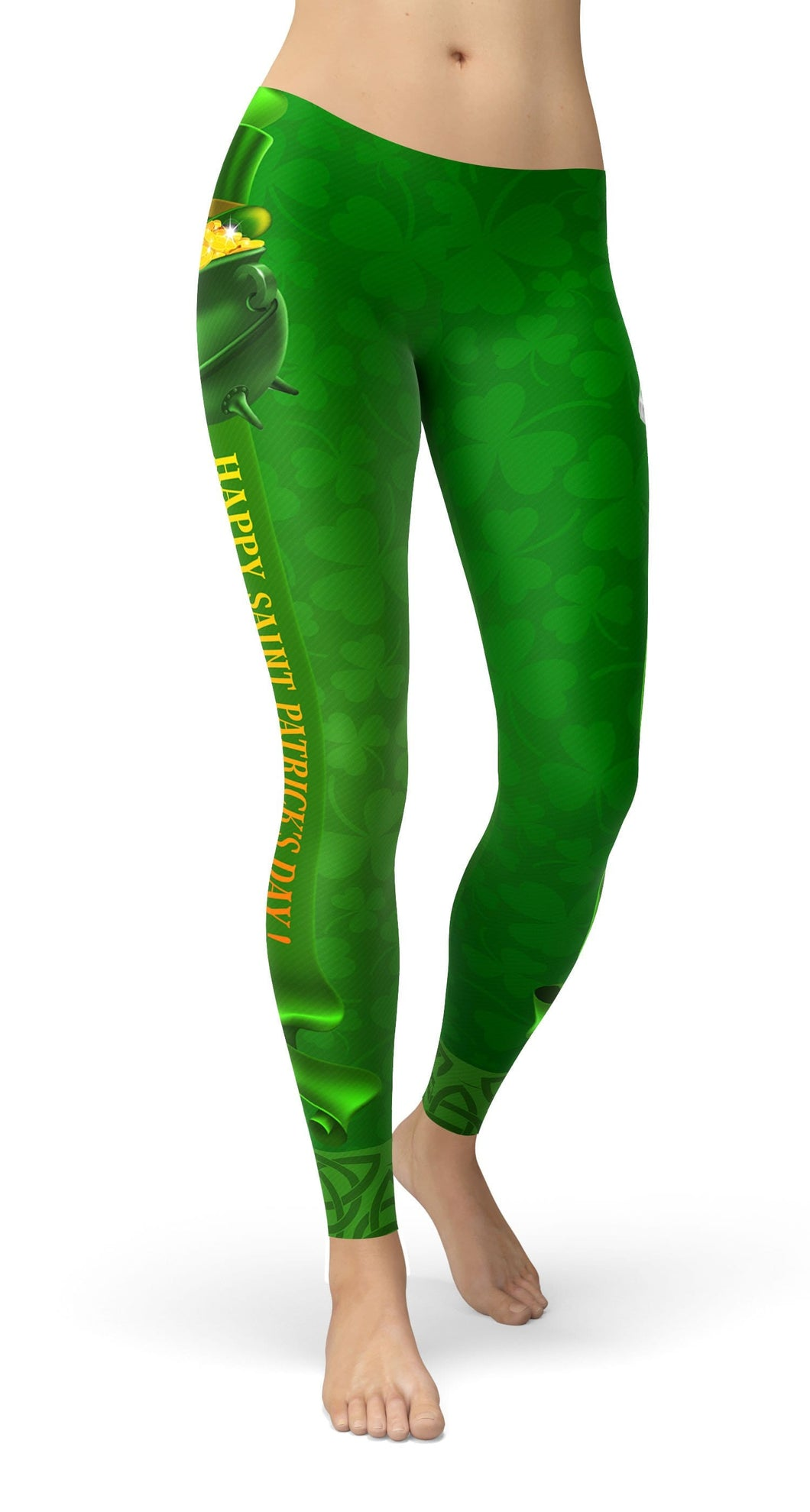 Happy St. Patrick's Day Leggings - US FITGIRLS