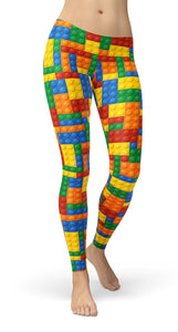 Blocks Leggings - US FITGIRLS