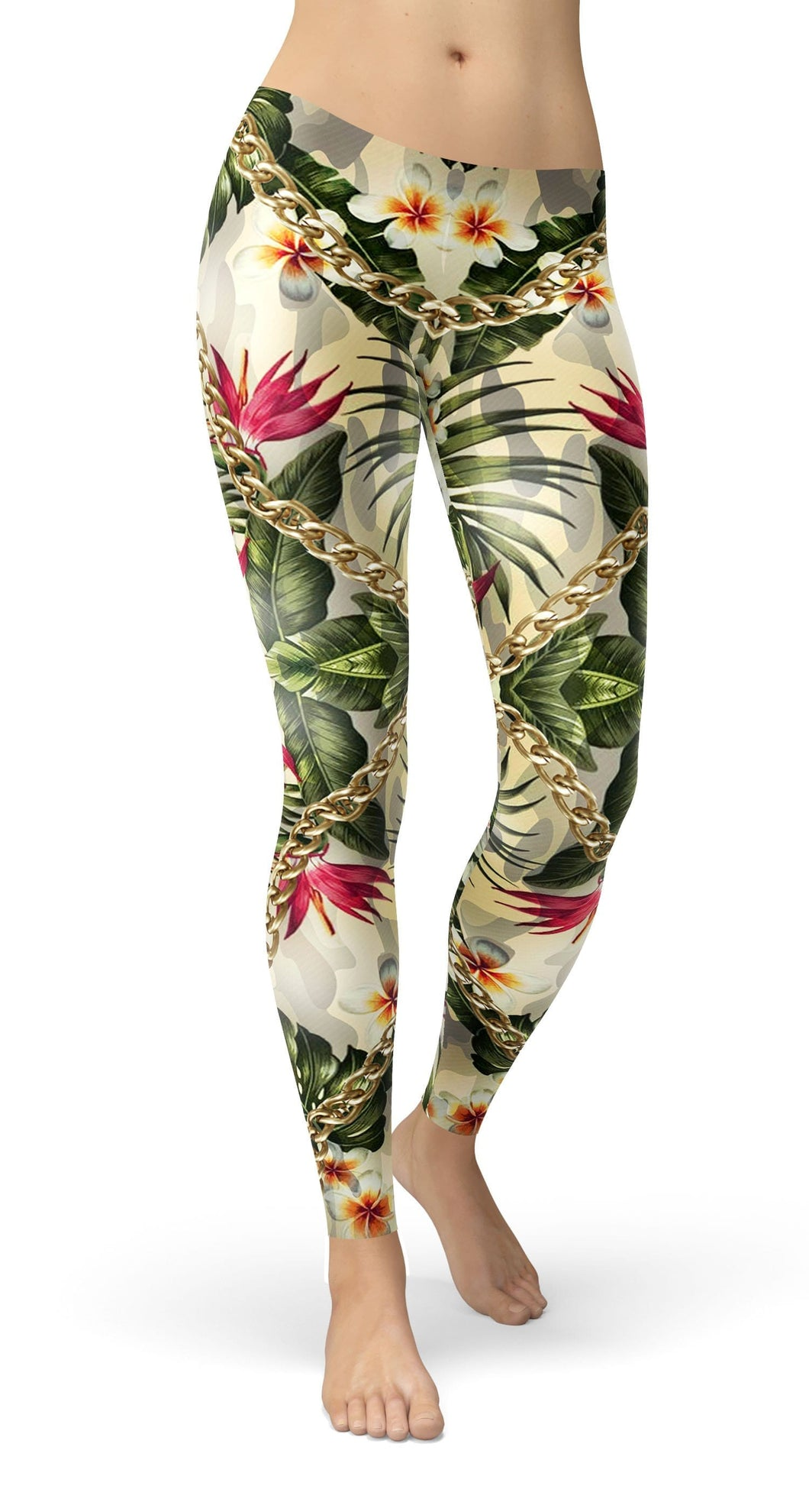Camouflage Flower Leggings - US FITGIRLS