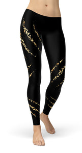 Leopard scratches Leggings
