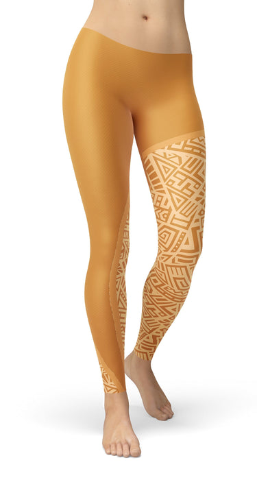 Ethnic Style Leggings - US FITGIRLS