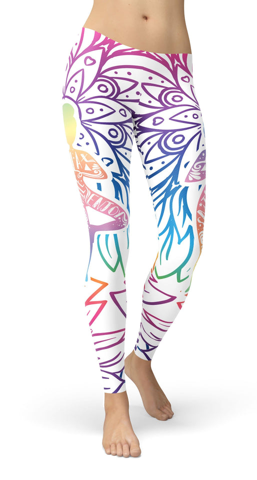 Relax and stay calm Leggings - US FITGIRLS
